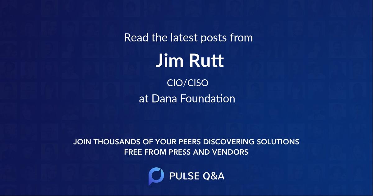 Jim Rutt