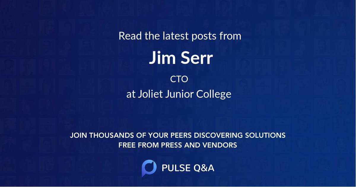 Jim Serr
