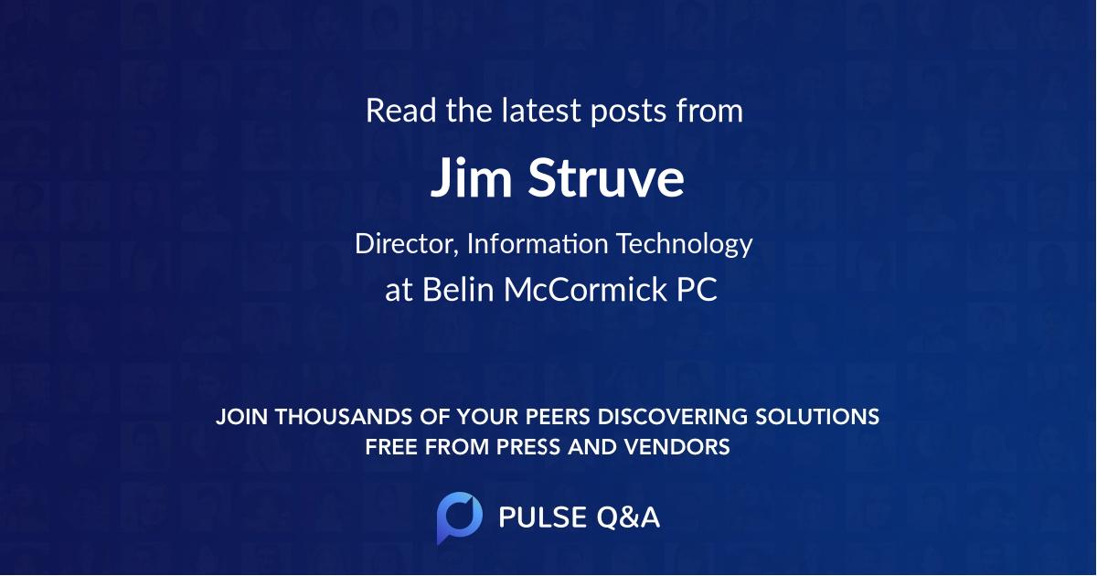 Jim Struve