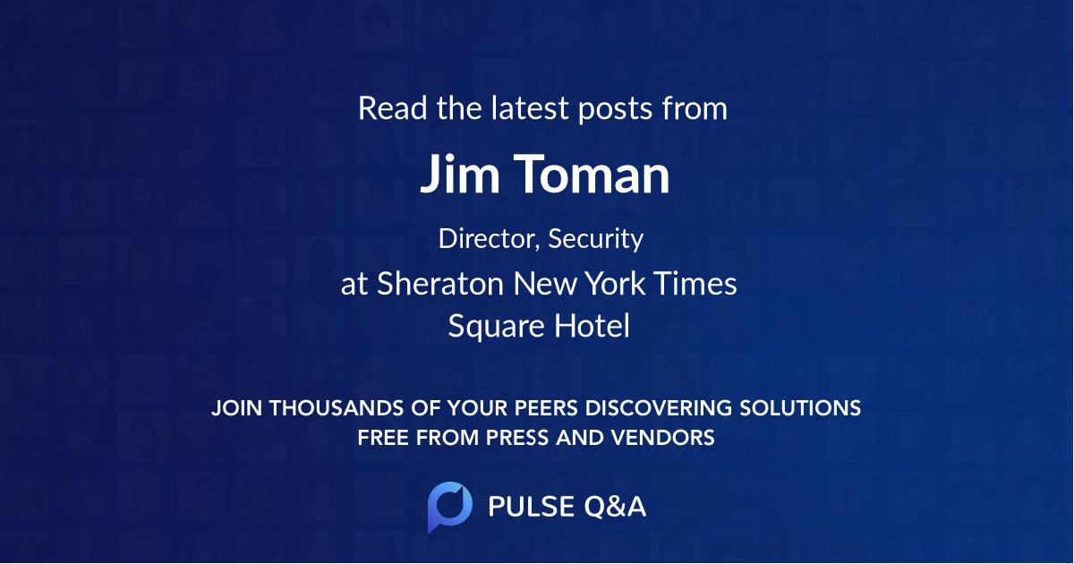 Jim Toman