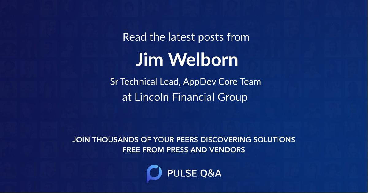 Jim Welborn