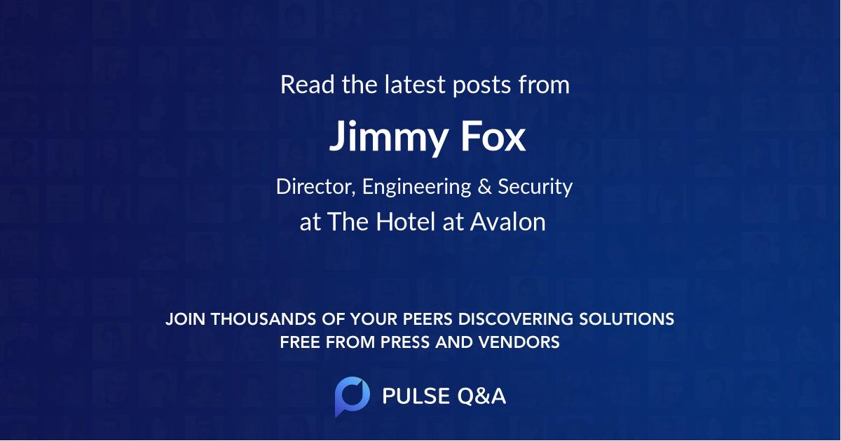 Jimmy Fox