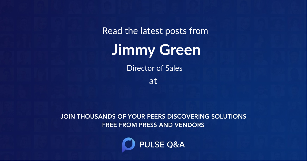 Jimmy Green