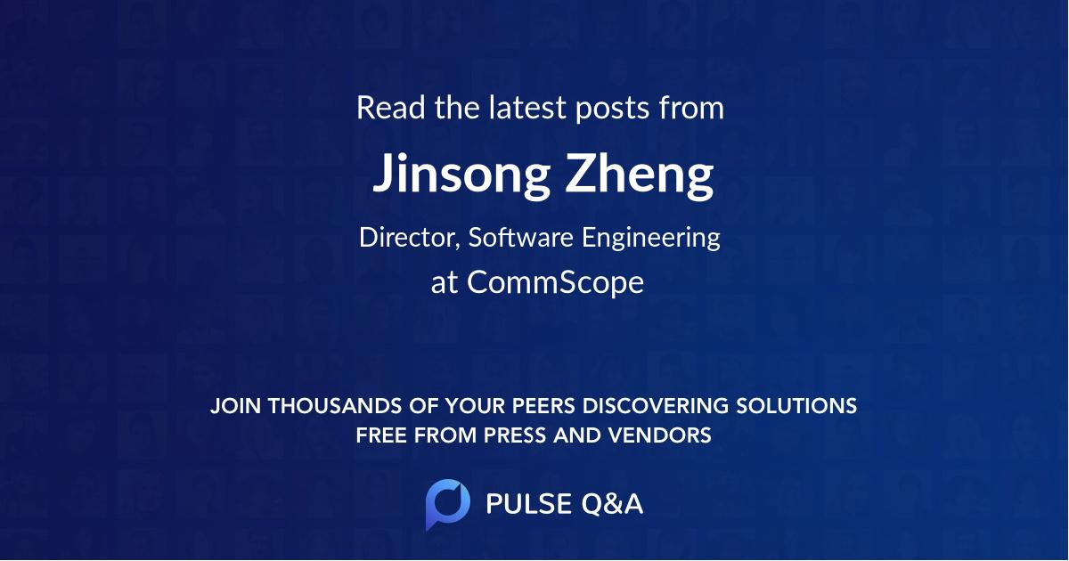 Jinsong Zheng