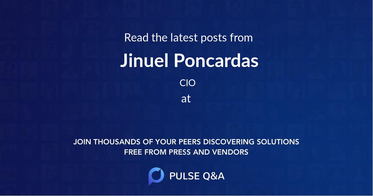 Jinuel Poncardas