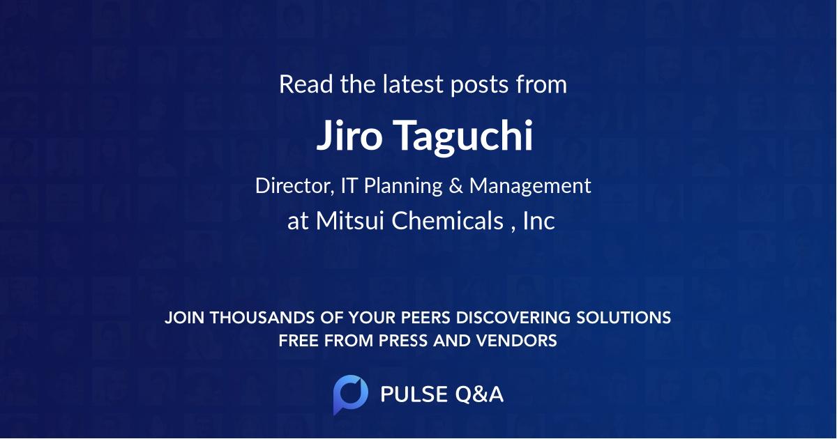 Jiro Taguchi