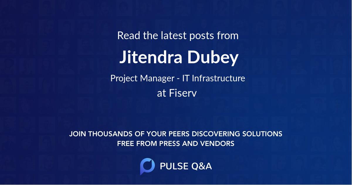 Jitendra Dubey