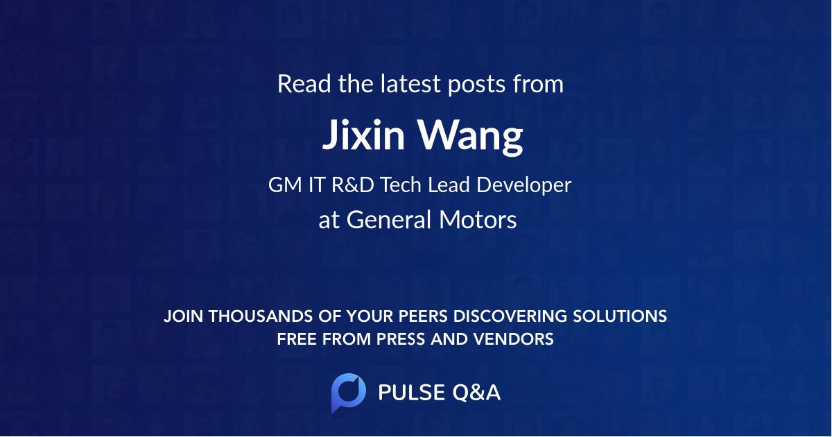 Jixin Wang