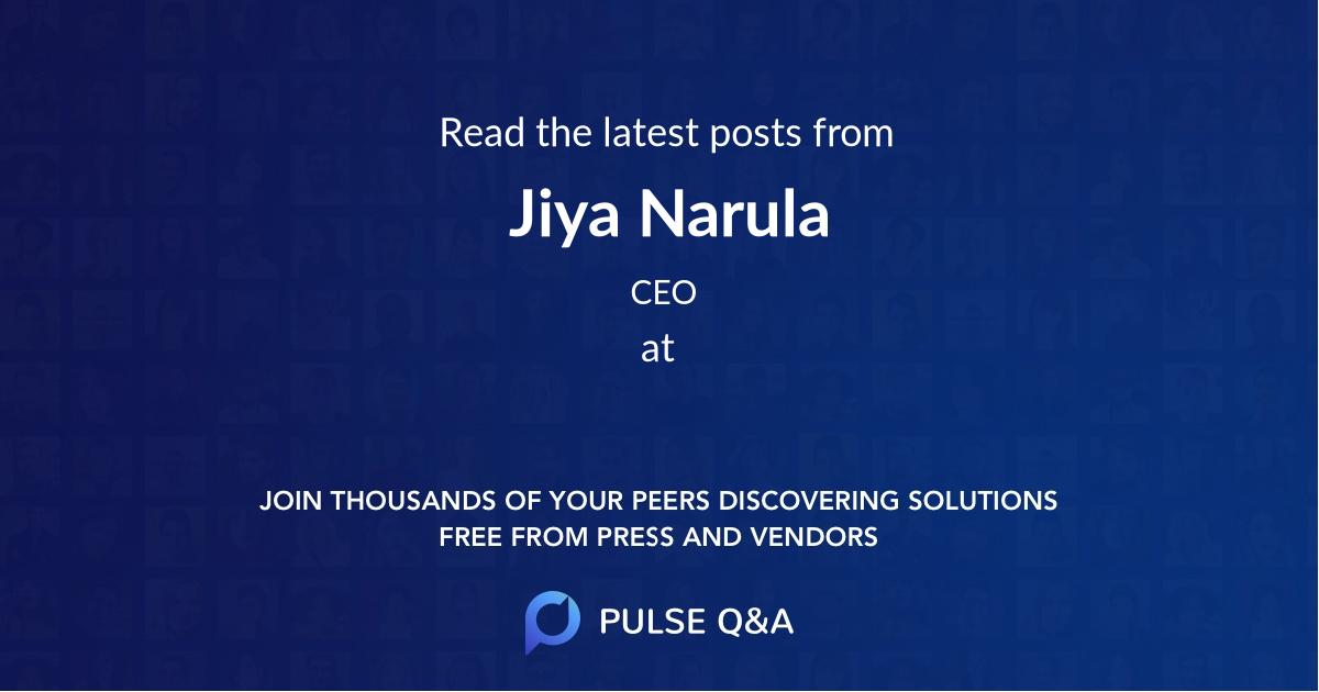 Jiya Narula