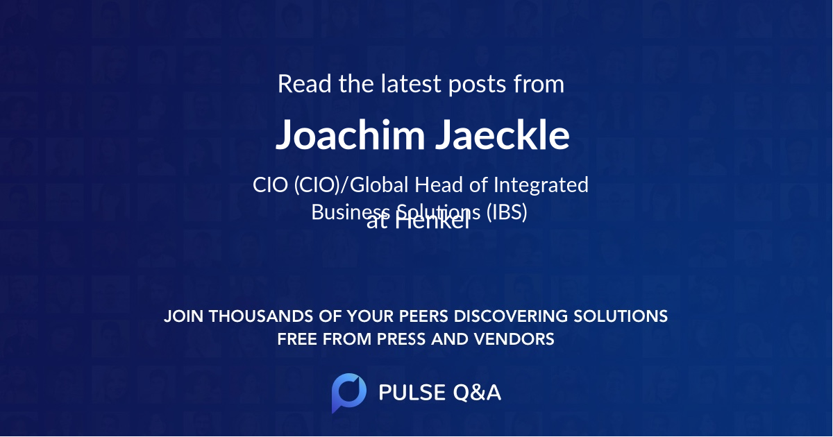 Joachim Jaeckle