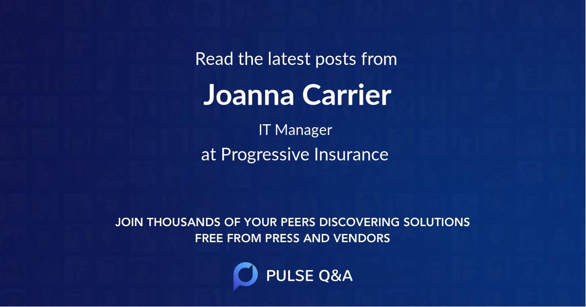 Joanna Carrier