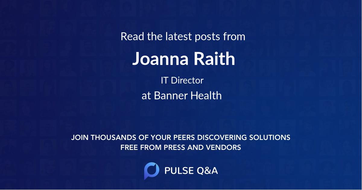 Joanna Raith