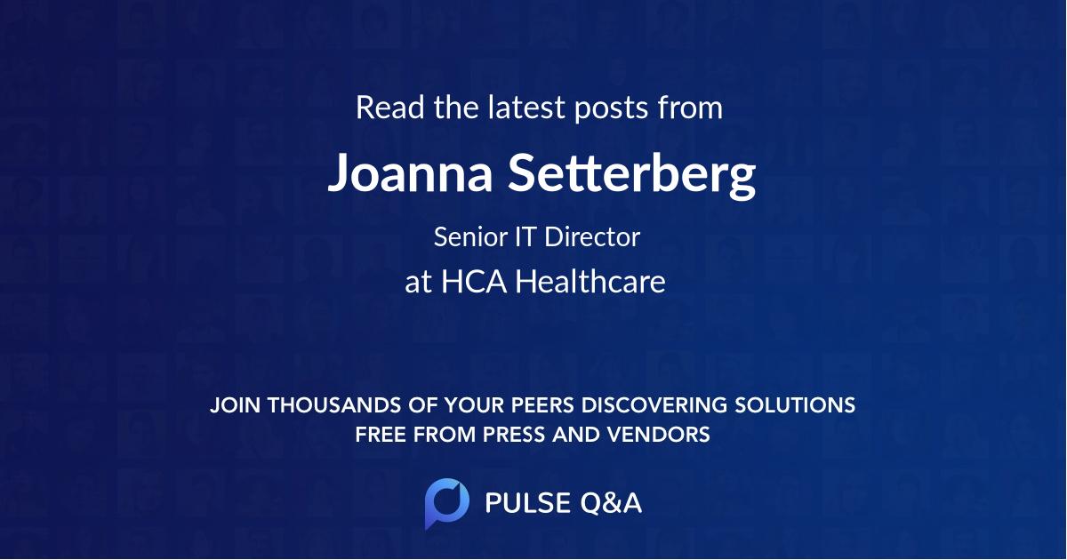 Joanna Setterberg
