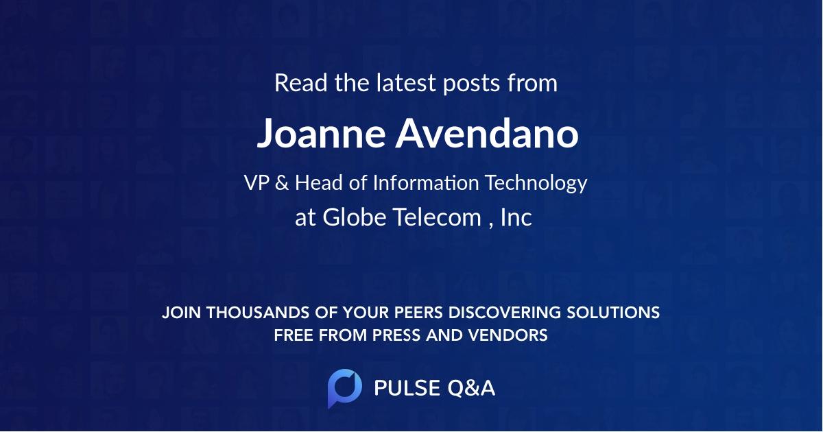 Joanne Avendano