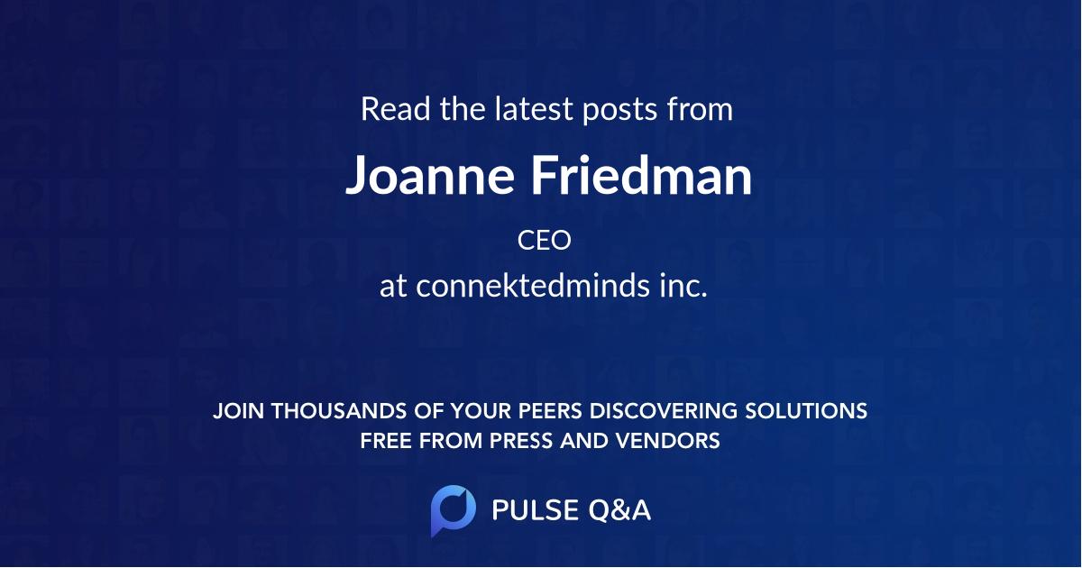 Joanne Friedman