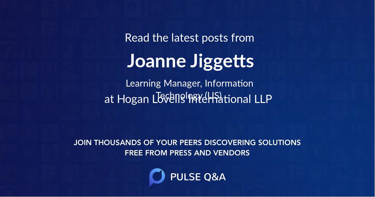 Joanne Jiggetts
