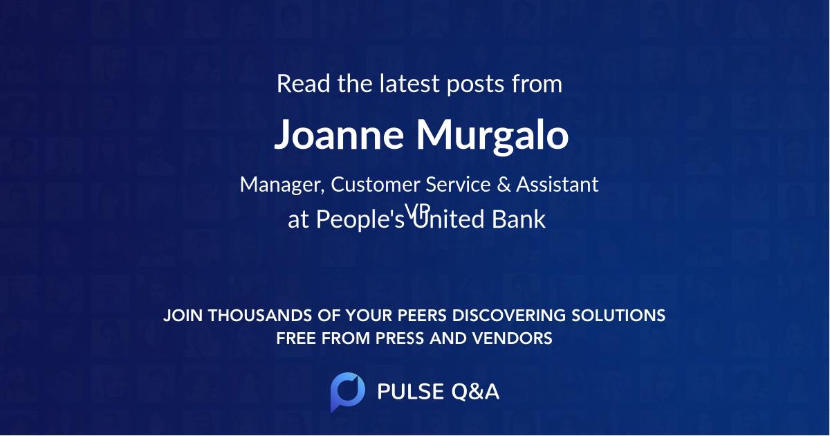 Joanne Murgalo