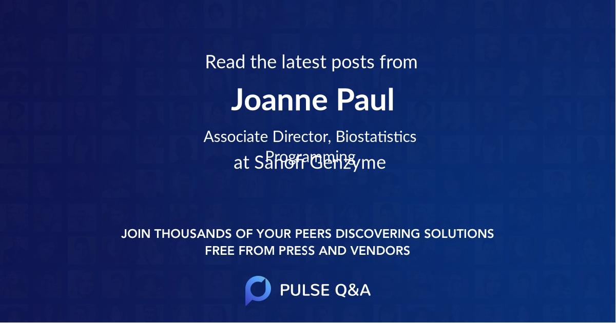 Joanne Paul