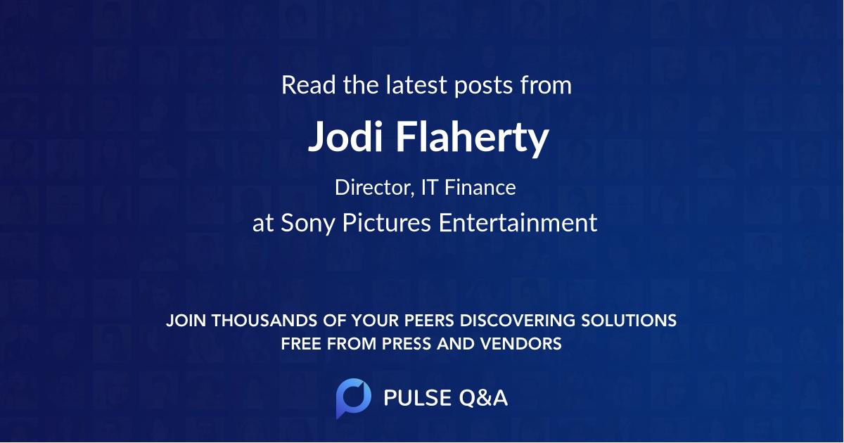 Jodi Flaherty