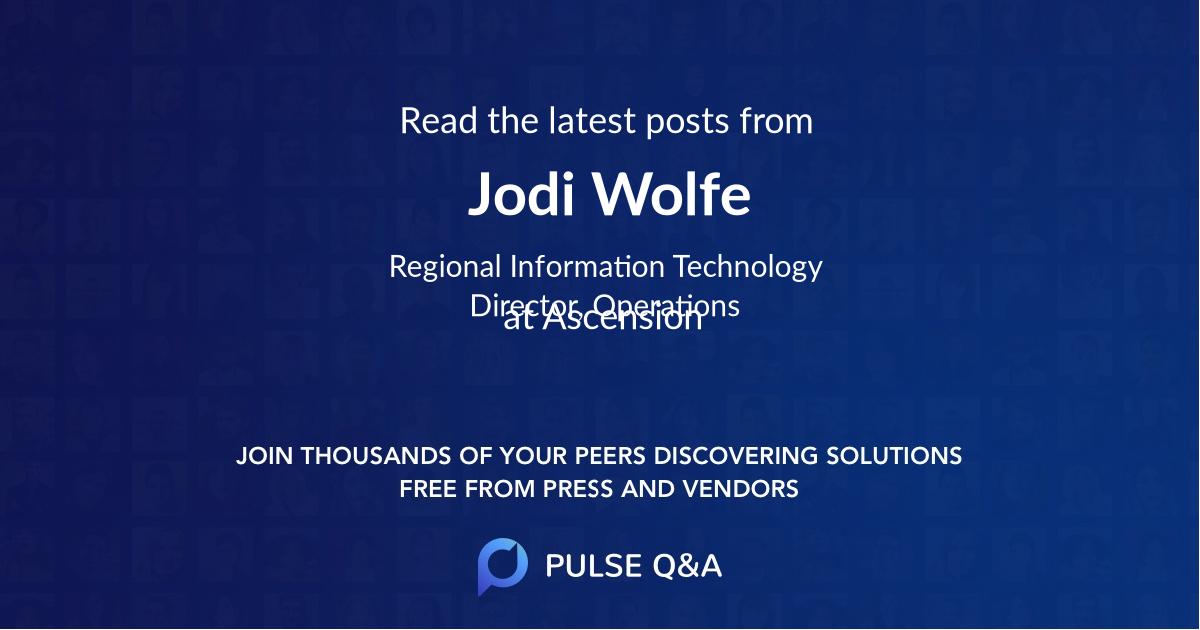 Jodi Wolfe