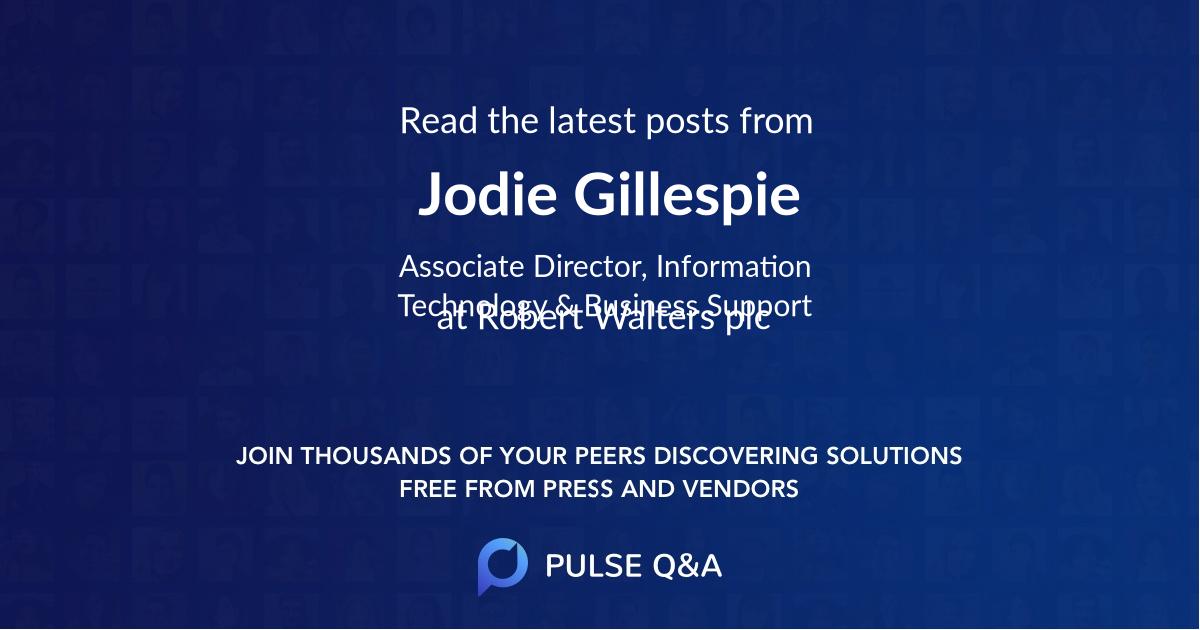 Jodie Gillespie