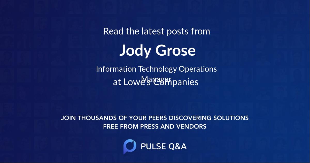 Jody Grose