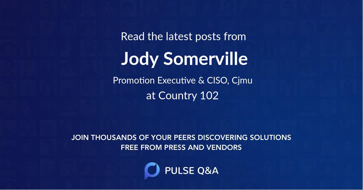 Jody Somerville