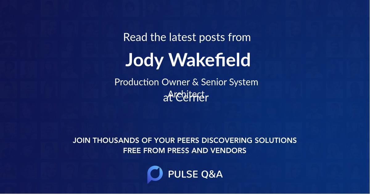 Jody Wakefield