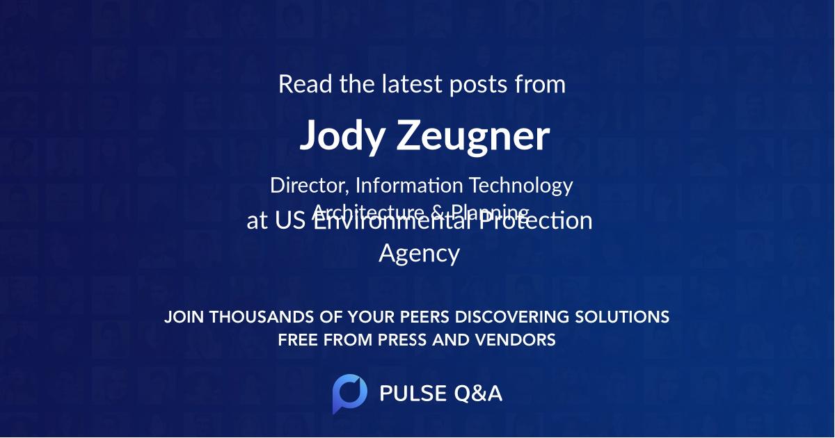 Jody Zeugner
