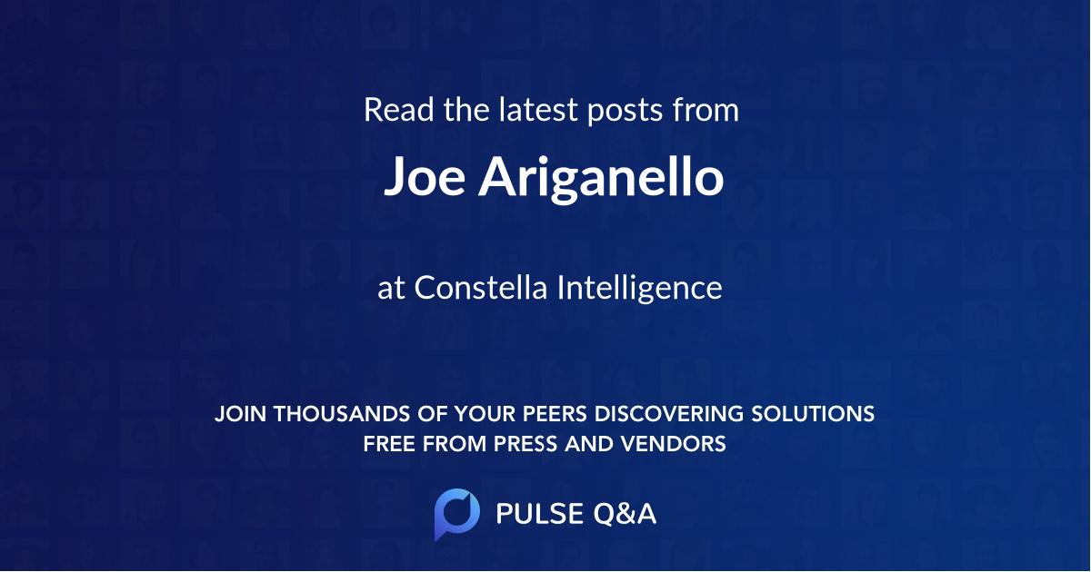 Joe Ariganello