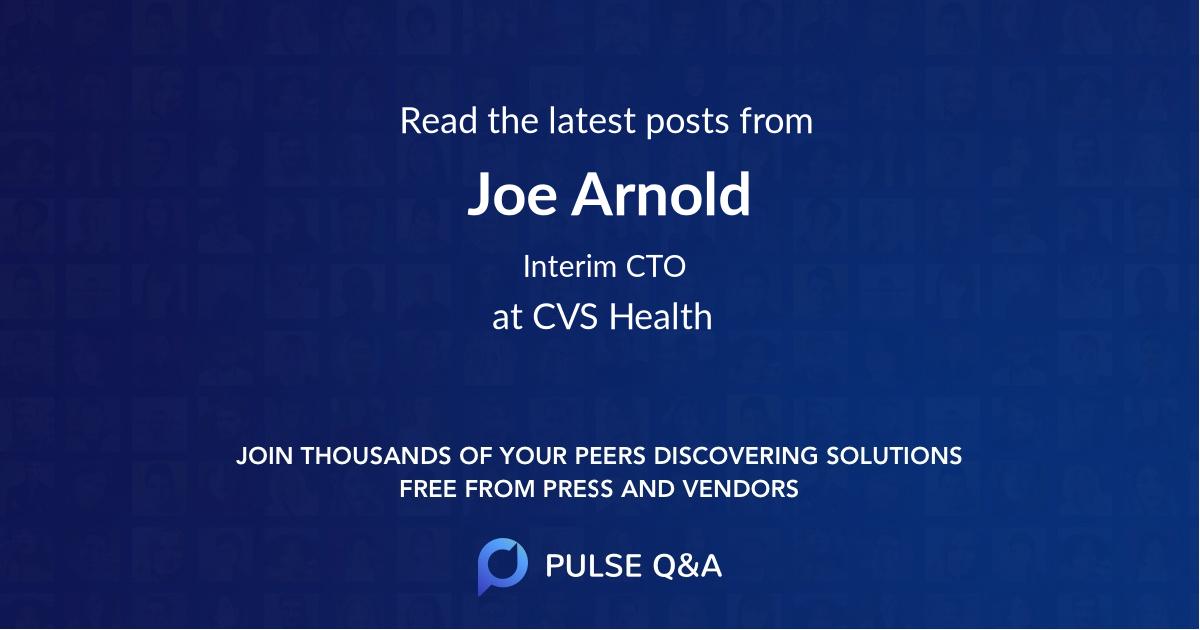 Joe Arnold