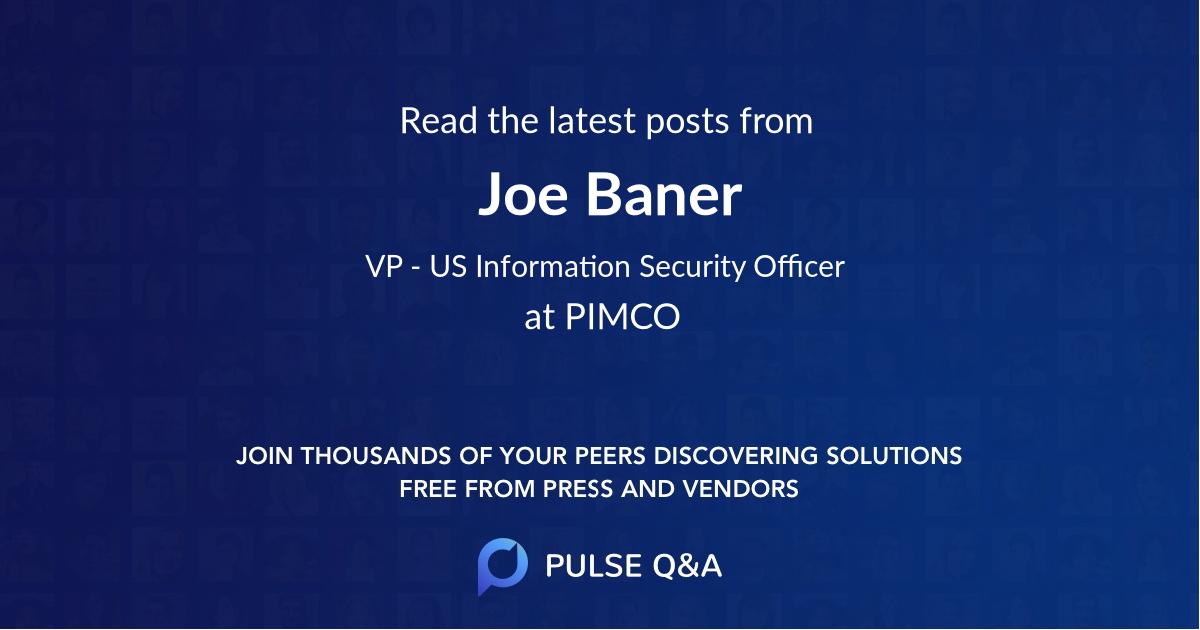 Joe Baner