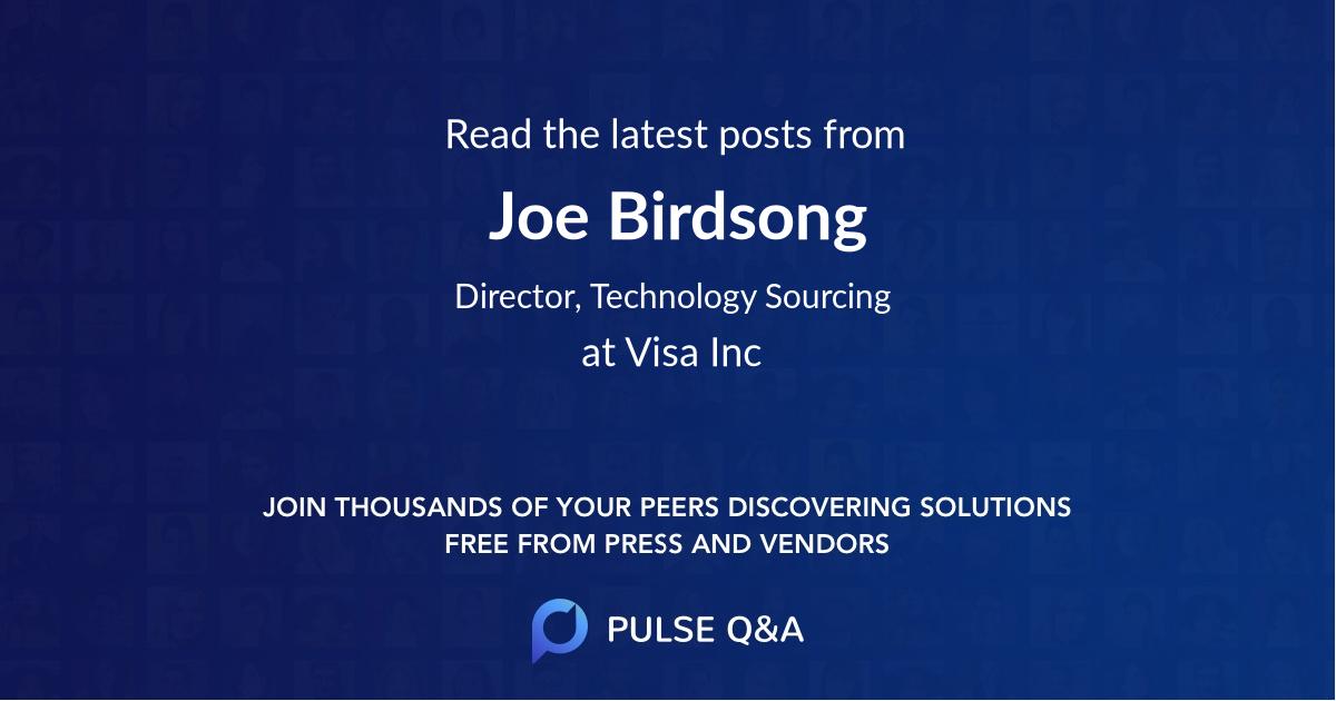 Joe Birdsong