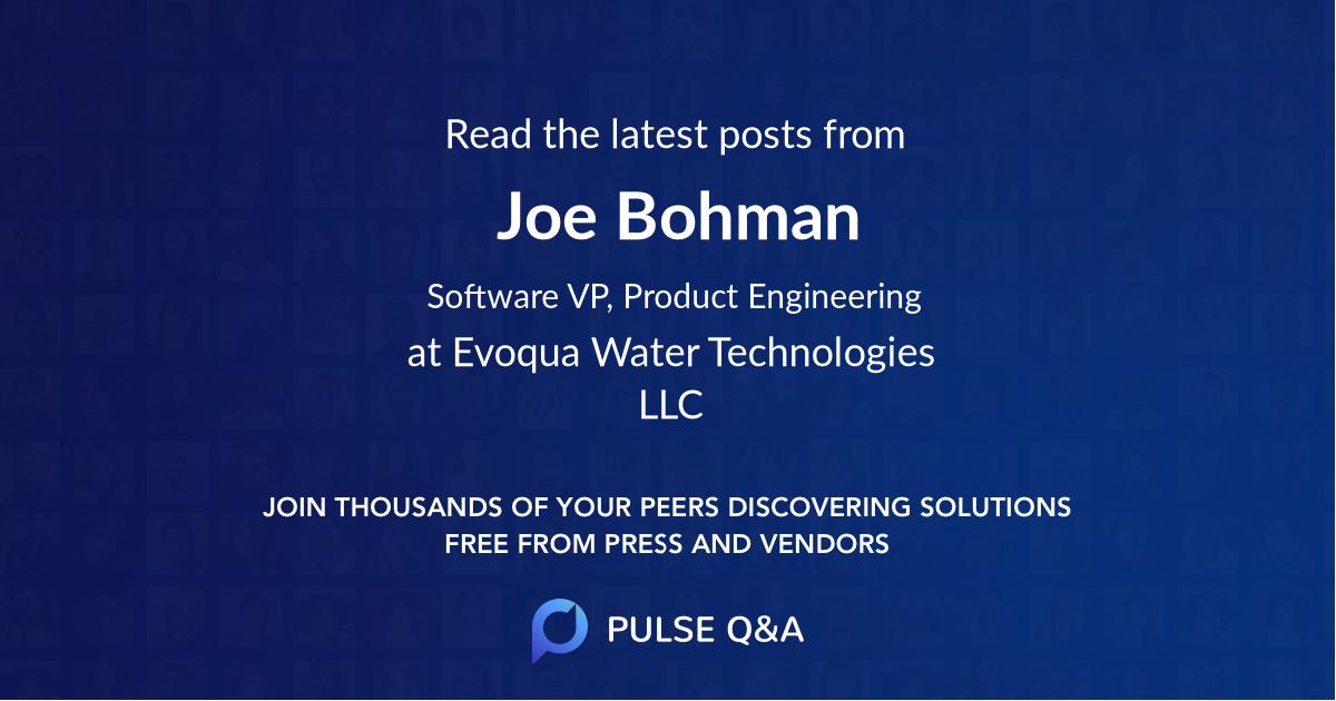 Joe Bohman