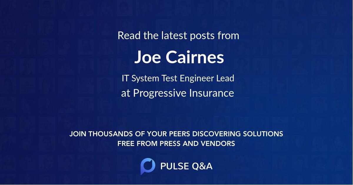 Joe Cairnes