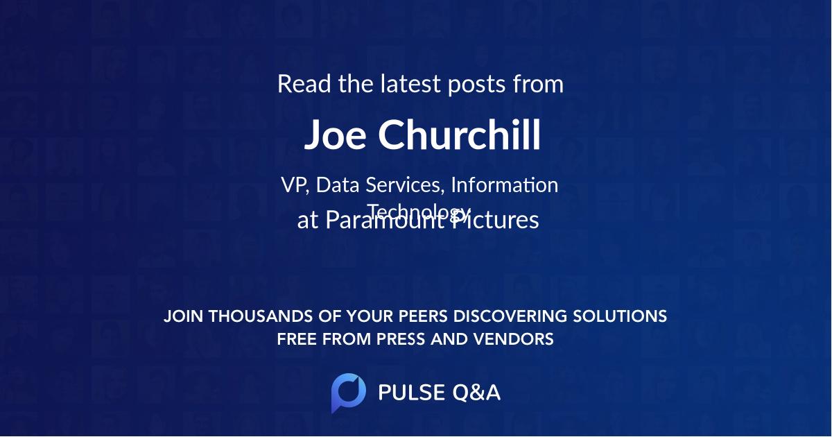 Joe Churchill