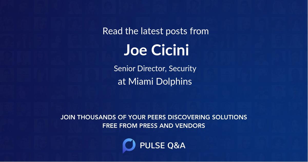 Joe Cicini