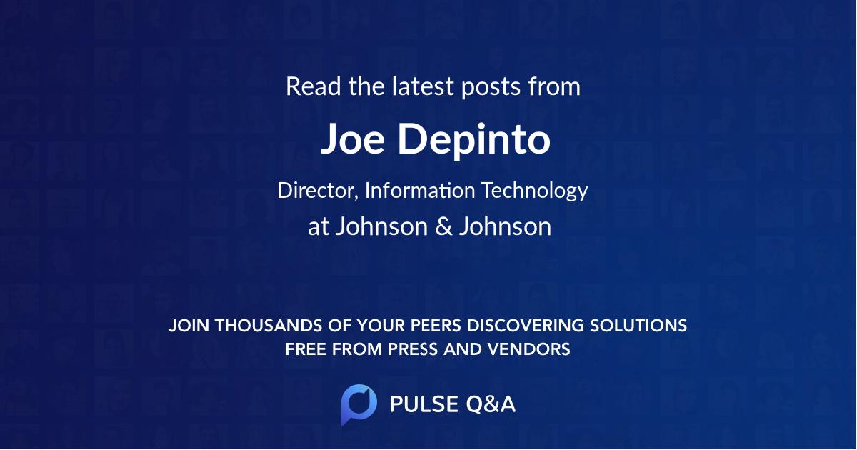Joe Depinto