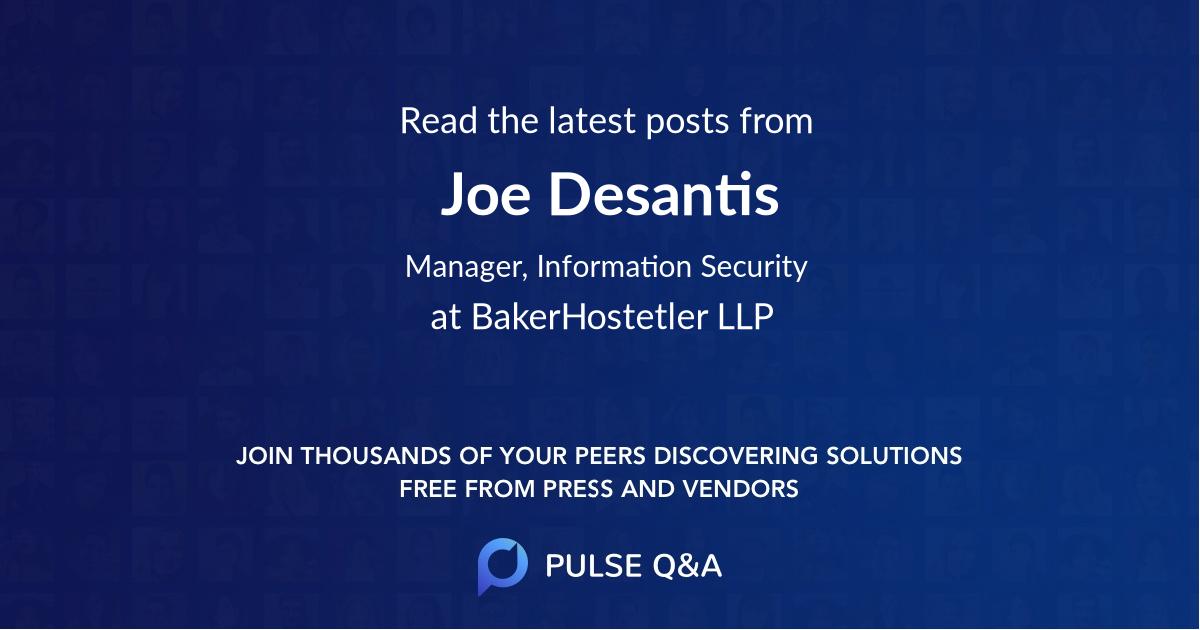 Joe Desantis