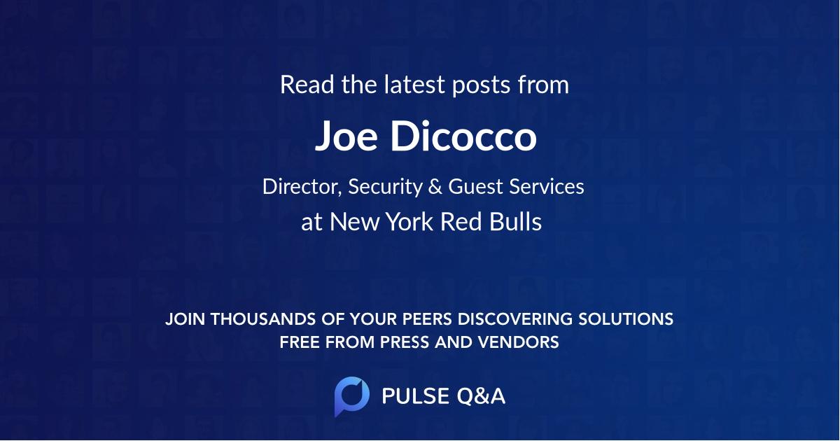 Joe Dicocco