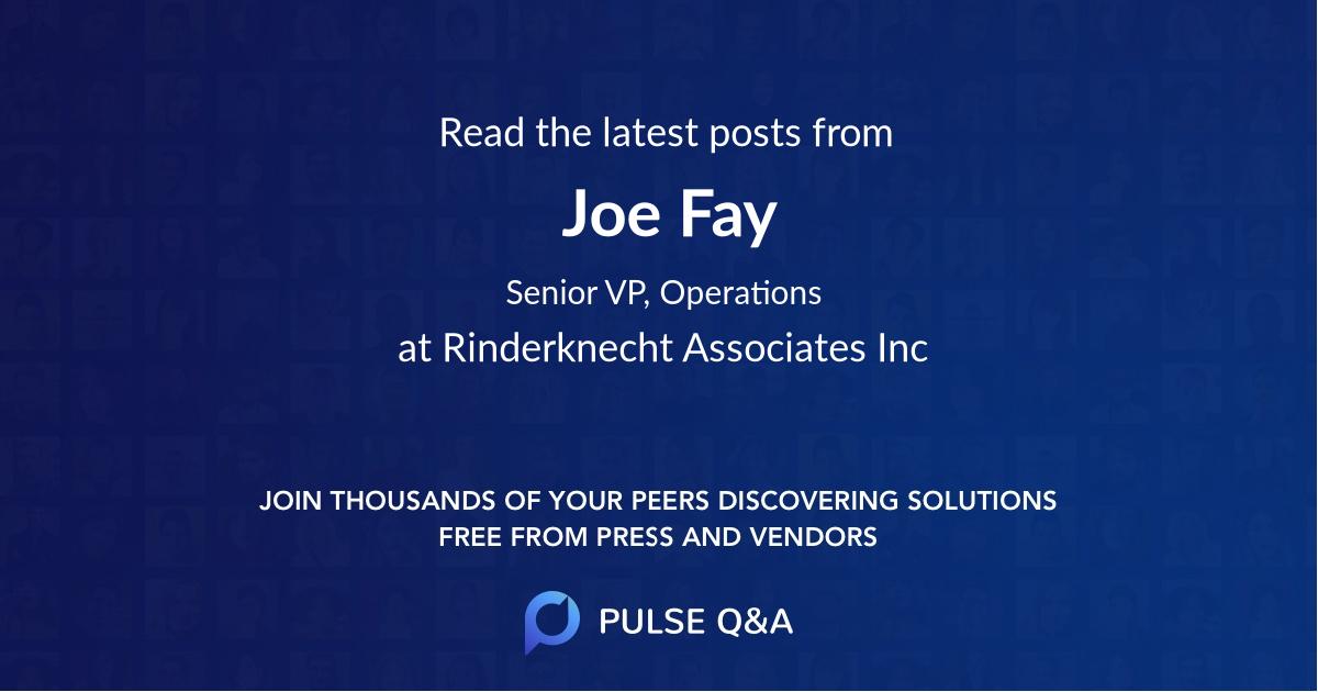 Joe Fay