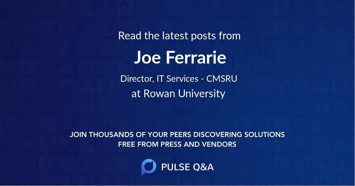 Joe Ferrarie
