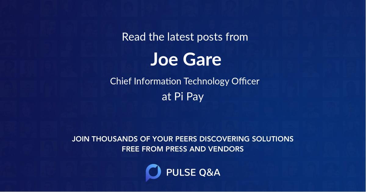 Joe Gare