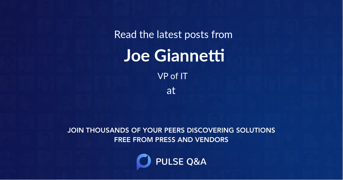 Joe Giannetti