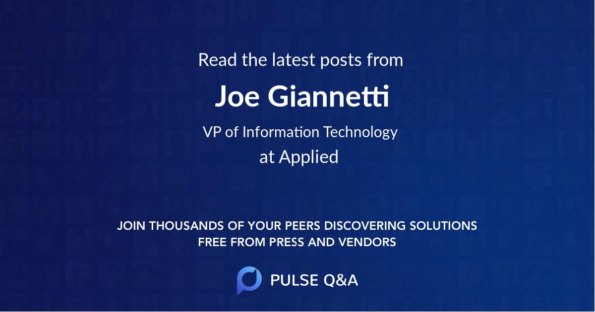 Joe Giannetti
