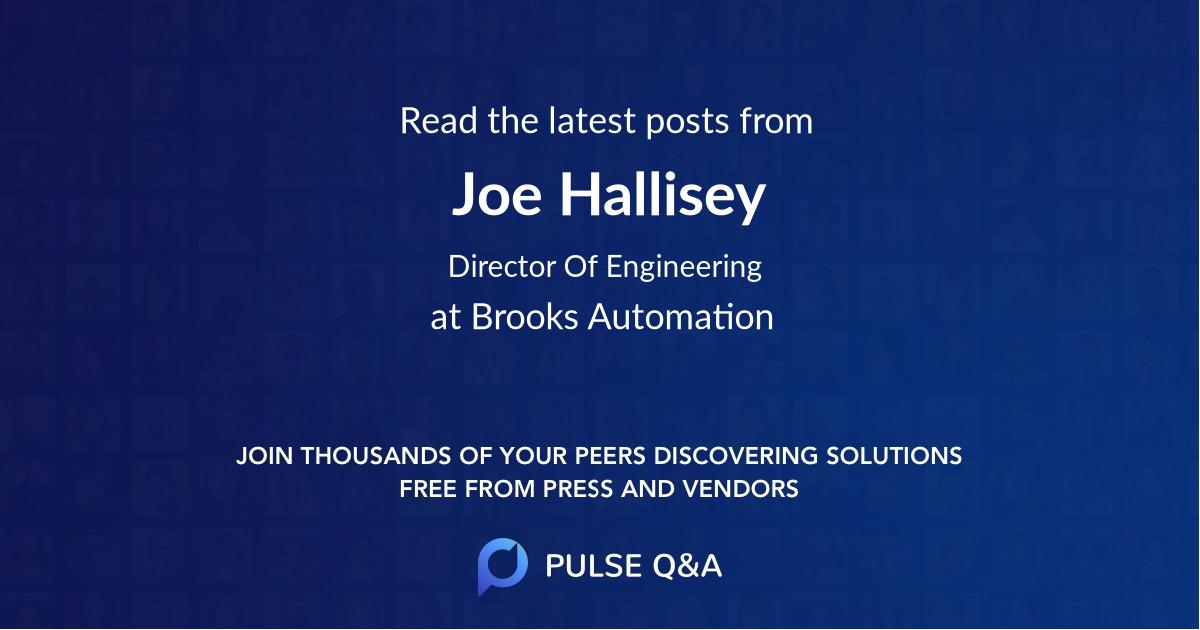 Joe Hallisey