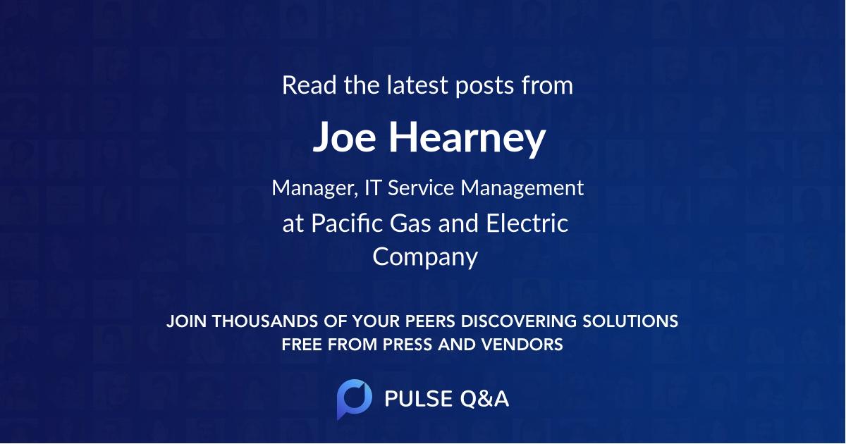 Joe Hearney