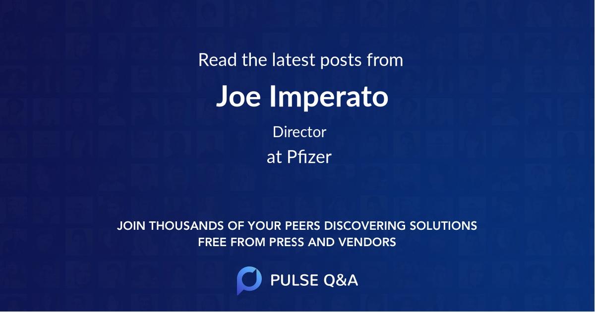Joe Imperato