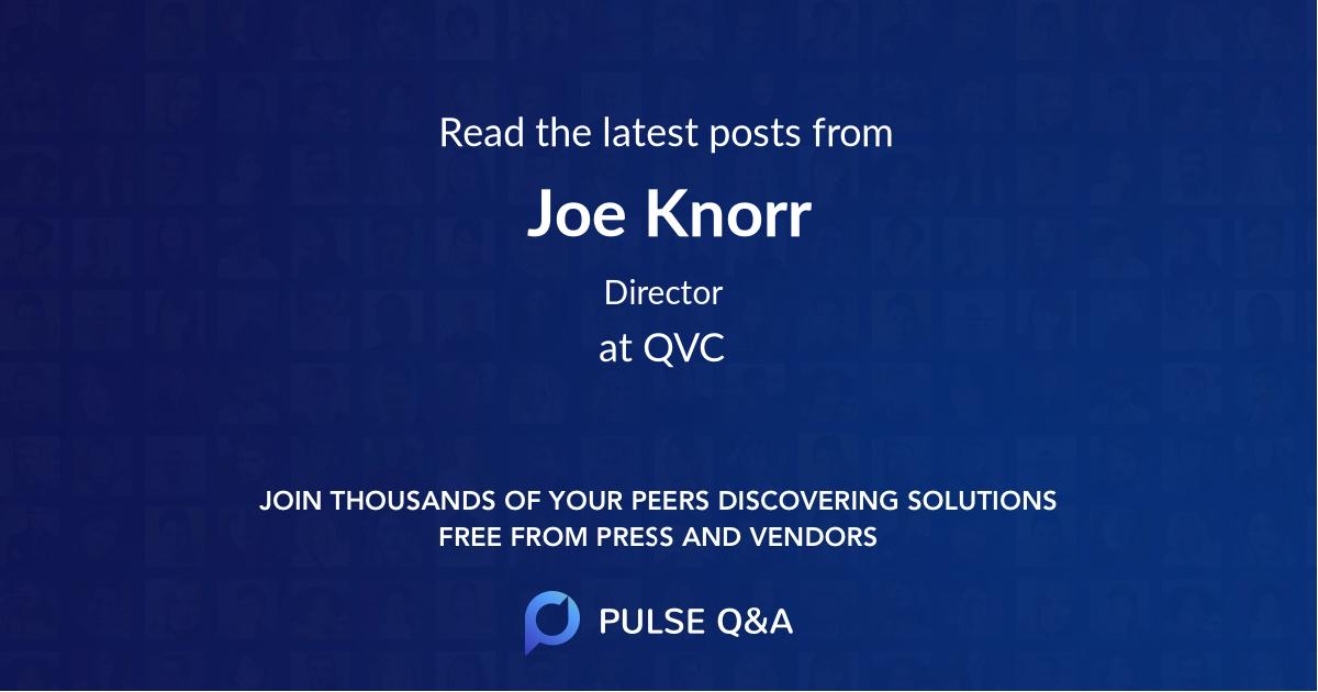 Joe Knorr