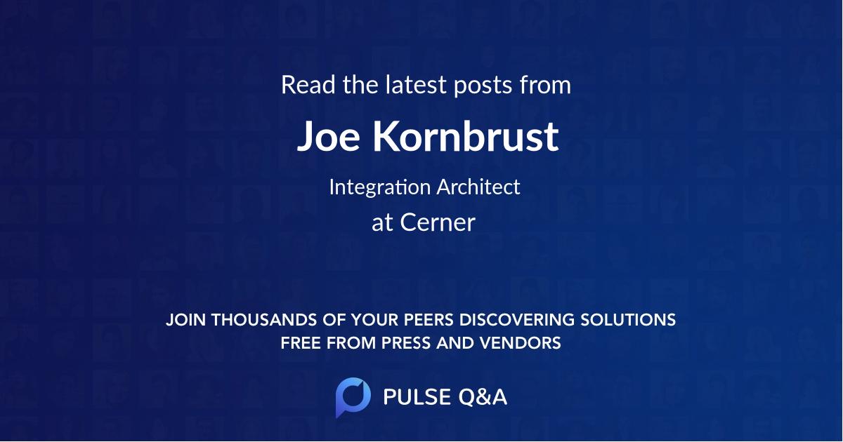 Joe Kornbrust